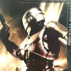 Cine: ROBOCOP 20TH ANNIVERSARY COLLECTORS EDITION 2 DVD REGION2 - DADES APRUEBAN LA CREACION DE UNA MAQUIN. Lote 268542239