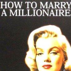 Cine: COMO CASARSE CON UN MILLONARIO MARILYN MONROE DVD. Lote 268544189