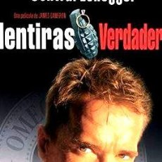 Cine: DVD MENTIRAS VERDADERAS ARNOLD SCHWARZENEGGER NUEVO SM S1. Lote 268547164