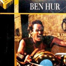 Cine: BEN HUR CHARLTON HESTON DVD LIBRO HOLLYWOOD CLASICO. Lote 268557929
