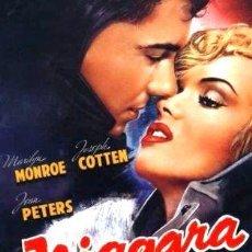 Cine: NIAGARA MARILYN MONROE DVD. Lote 268558654