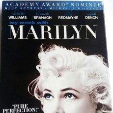 Cine: MARILYN MONROE MY WEEK WITH DVD ZONA 1 NUEVO CERRADO. Lote 268563019