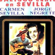 Cine: JALISCO CANTA EN SEVILLA CARMEN SEVILLA JORGE NEGRETE. Lote 268563894