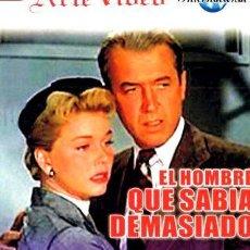Cine: EL HOMBRE QUE SABIA DEMASIADO JAMES STEWART DORIS DAY. Lote 268565239