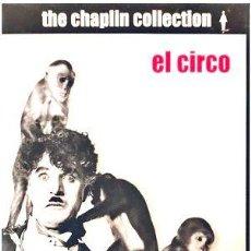 Cine: EL CIRCO CHARLES CHAPLIN DVD DOBLE ED ESPECIAL. Lote 268566319