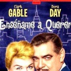 Cine: ENSENAME A QUERER THE TEACHERS PET DORIS DAY DVD. Lote 268568524