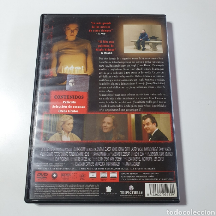 Cine: Dvd, Reencarnación, Nicole Kidman, Lauren Bacall, Danny Huston, Anne Heche. - Foto 4 - 268571739