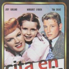 Cine: CITA EN ST LOUIS (JUDY GARLAND, MARGARET O'BRIEN) - DVD NUEVO Y PRECINTADO. Lote 268609064