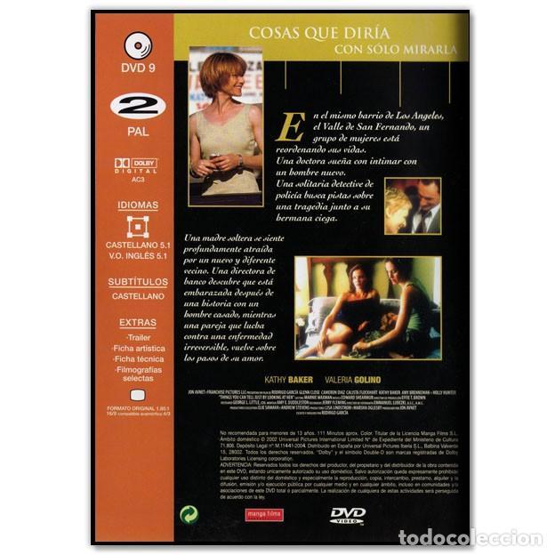 Cine: COSAS QUE DIRÍA CON SOLO MIRARLA DVD - Foto 2 - 268619554