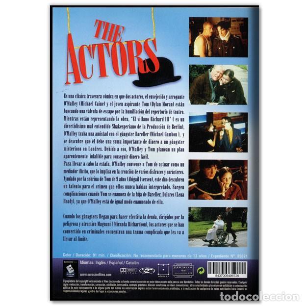 Cine: THE ACTORS DVD - Foto 2 - 268619744