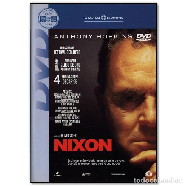 NIXON ANTHONY HOPKINS DVD (Cine - Películas - DVD)