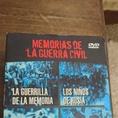 Cine: MEMORIAS DE LA GUERRA CIVIL COMPLETA - PLANETA 2003. Lote 268725704