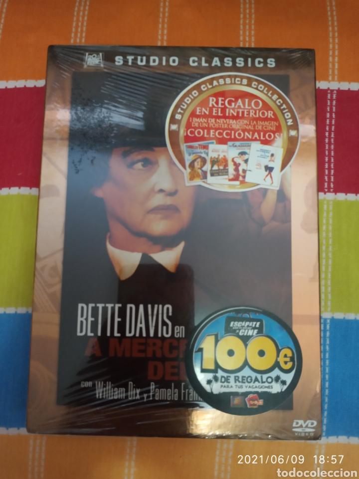 DVD. A MERCED DEL ODIO. PRECINTADO. CON BETTE DAVIS. (Cine - Películas - DVD)