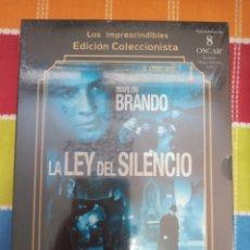 Cine: DVD. LA LEY DEL SILENCIO. COLECCIÓN LOS IMPRESCINDIBLES. PRECINTADO. MARLON BRANDO. INCLUYE LIBRETO.. Lote 268743214