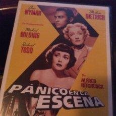 Cine: PÁNICO EN LA ESCENA. Lote 268786834