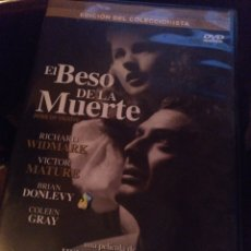 Cine: EL BESO DE LA MUERTE. Lote 268786894