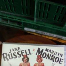 Cine: MARILYN MONROE ( LOS CABALLEROS LAS PREFIEREN RUBIAS). Lote 268831069