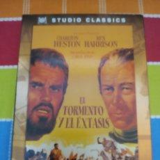 Cine: DVD. EL TORMENTO Y EL ÉXTASIS. CHARLTON HESTON.. Lote 268863959