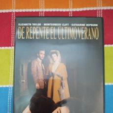 Cine: DVD. DE REPENTE EL ÚLTIMO VERANO. ELIZABETH TAYLOR Y KATHARINE HEPBURN.. Lote 268865864