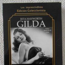 Cine: GILDA. EDICION COLECCIONISTA. LOS IMPRESCINDIBLES. DVD DE LA PELICULA DE RITA HAYWORTH. NUEVO A ESTR. Lote 268876729