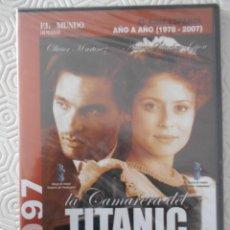 Cine: LA CAMARERA DEL TITANIC. DVD DE LA PELICULA DE BIGAS LUNA. ESTUCHE FINO. NUEVO A ESTRENAR.. Lote 268920929
