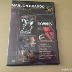Cine: DVD PRECINTADO LA FORMULA - HOMBRES -LOS ÚLTIMOS JUEGOS PROHIBIDOS-MARLON BRANDO. Lote 269000544