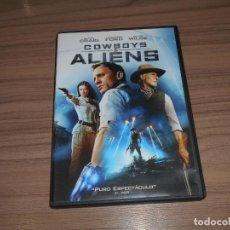 Cine: COWBOYS & ALIENS DVD DANIEL CRAIG HARISON FORD COMO NUEVA. Lote 269045293