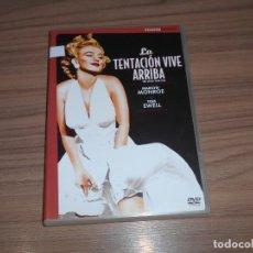 Cine: LA TENTACION VIVE ARRIBA EDICION ESPECIAL 2 DVD MARILYN MONROE. Lote 269045998