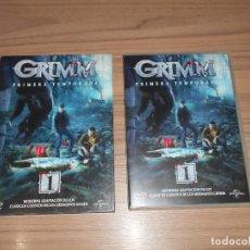 Cine: GRIMM TEMPORADA 1 COMPLETA 6 DVD CIENCIA FICCION-TERROR 1.000 MINUTOS. Lote 269046468