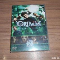 Cine: GRIMM TEMPORADA 2 COMPLETA 6 DVD CIENCIA FICCION-TERROR 910 MINUTOS. Lote 269046583