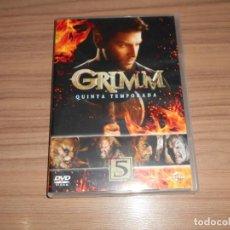 Cine: GRIMM TEMPORADA 5 COMPLETA 5 DVD CIENCIA FICCION-TERROR 899 MINUTOS. Lote 269046853