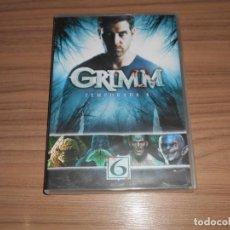 Cine: GRIMM TEMPORADA 6 COMPLETA 4 DVD CIENCIA FICCION-TERROR 534 MINUTOS. Lote 269046993