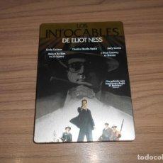 Cine: LOS INTOCABLES DE ELIOT NESS EDICION ESPECIAL CAJA METALICA DVD DVD COMO NUEVO. Lote 269047713