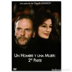 Cine: UN HOMBRE Y UNA MUJER 2 PARTE DVD. Lote 269050118