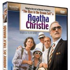 """Cinéma: EL HOMBRE DEL TRAJE MARRON """"AGATHA CHRISTIE"""" - DVD NUEVO Y PRECINTADO. Lote 269068343"""
