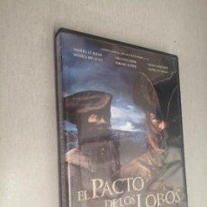 Cine: EL PACTO DE LOS LOBOS / CHRISTOPHE GANS / PELÍCULA DVD. Lote 269076523
