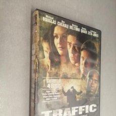 Cine: TRAFFIC / MICHAEL DOUGLAS - BENICIO DEL TORO - CATHERINE ZETA JONES / PELÍCULA DVD. Lote 269078278