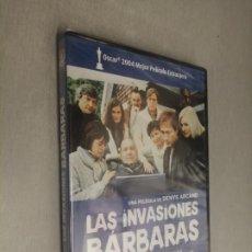 Cine: LAS INVASIONES BÁRBARAS / DENYS ARCAND / PELÍCULA DVD. Lote 269078953