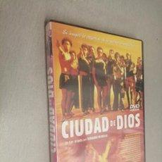 Cine: CIUDAD DE DIOS / FERNANDO MEIRELLES / PELÍCULA DVD. Lote 269079113