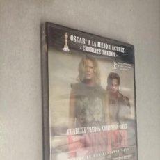 Cine: MONSTER / CHARLIZE THERON - CHRISTINA RICCI / PELÍCULA DVD. Lote 269079303