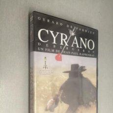 Cine: CYRANO DE BERGERAC / GERARD DEPARDIEU / PELÍCULA DVD. Lote 269080608