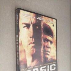 Cine: BASIC / JOHN TRAVOLTA - SAMUEL L. JACKSON - CONNIE NIELSEN / PELÍCULA DVD. Lote 269081273