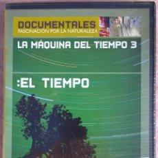 Cine: LA MÁQUINA DEL TIEMPO 3: EL TIEMPO (BBC, 2005) // NUEVO Y PRECINTADO /// NATIONAL GEOGRAPHIC FAUNA. Lote 269163893