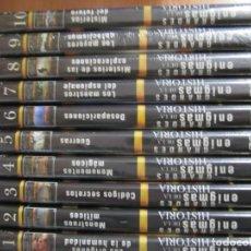 Cine: LOTE COLECCION 10 DVD GRANDES ENIGMAS DE LA HISTORIA OCEANO MULTIMEDIA 7 NUEVOS PRECINTADOS. Lote 269192703