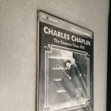 Cine: COLECCIÓN CHARLES CHAPLIN VOL. 3 / CHARLOT CAMPEÓN DE BOXEO, LA FUGA DE CHARLOT... / PELÍCULAS DVD. Lote 269202523