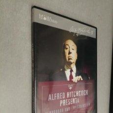 Cine: ALFRED HITCHCOCK PRESENTA TEMPORADA UNO: EPISODIOS 1 A 4 / SERIES EL MUNDO - DVD. Lote 269202888