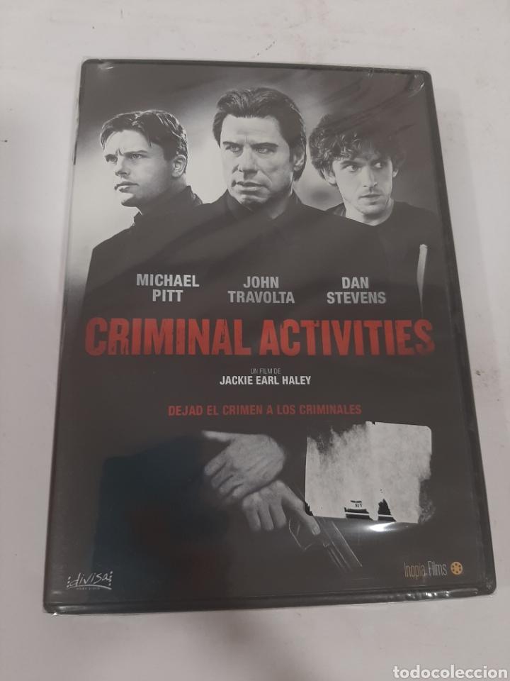 REF. 13544 CRIMINAL ACTIVITIES -DVD NUEVO PRECINTADO (Cine - Películas - DVD)