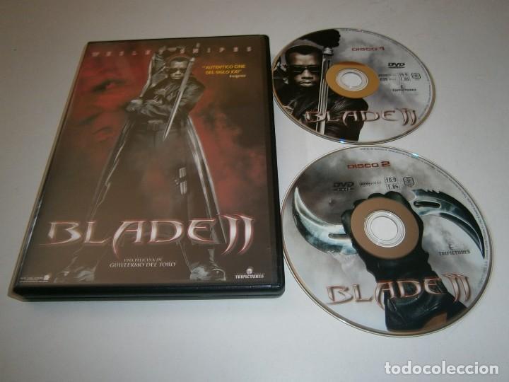 BLADE 2 DVD EDICION ESPECIAL DOS DISCOS WESLEY SNIPES GUILLERMO DEL TORO (Cine - Películas - DVD)