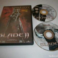 Cine: BLADE 2 DVD EDICION ESPECIAL DOS DISCOS WESLEY SNIPES GUILLERMO DEL TORO. Lote 269212798