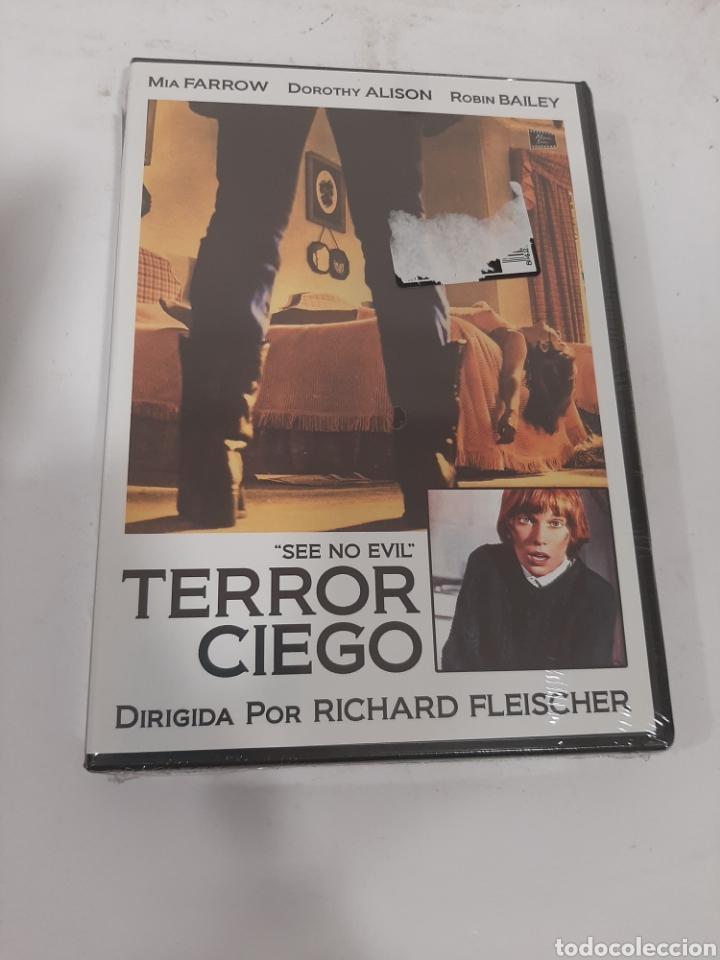 REF. 13546 TERROR CIEGO -DVD NUEVO PRECINTADO (Cine - Películas - DVD)